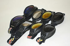 MOTOCROSS MX ATV GOOGLES ADULT FLEXIBLE (Flame)