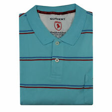 Mens Big Tall Plus Size Casual PK Polo Cotton Teal Blue T Shirt Short Sleeve Top