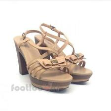 Shoes Nero Giardini P410771D 400 Sandals Women Leon Leather Made in Italy