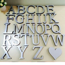 New Wedding Love Letters Home Decor English Mirror Wall Stickers Alphabet