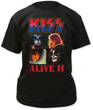KISS T-SHIRT - ALIVE II ALBUM COVER