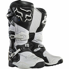 NEW FOX RACING MENS ADULT 2016 WHITE COMP 8 MOTOCROSS MX ATV BOOTS RIDING