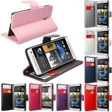 HTC One Mini M4 Side Opening Wallet Flip PU Leather Case Cover