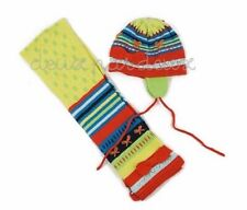 NWT Deux Par Deux Fun Fairies Believer Hat & Scarf Set 2/3, 4/5, 6/7y style BEF
