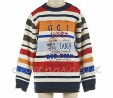 NWT Deux par Deux Stadium Arcadium Knit Sweater top baby boy 2, 3, 4 y.old SE60