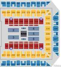 4 tix WWE MONDAY NIGHT RAW -TV Side Lowers- ROYAL FARMS ARENA BALTIMORE MD 9/12
