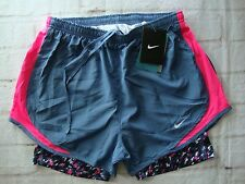 Nike 749460 Women's Tempo Printed 2-in-1 Shorts Running Training Tennis 822477