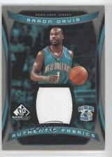 2004-05 SP Game Used Authentic Fabrics AF-BD Baron Davis New Orleans Hornets 0b4