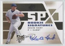 2008 SPx #106 Kevin Hart Chicago Cubs Auto Autographed RC Baseball Card 0b5