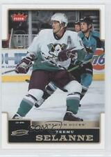 2006-07 Fleer #3 Teemu Selanne Anaheim Ducks (Mighty of Anaheim) Hockey Card 0b9