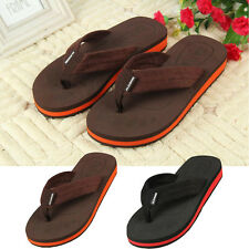 Mens Flip-flops Slippers Sandals Summer Indoor & Outdoor  Beach Slippers Shoes
