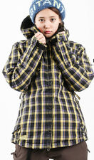 686 Reserved Tonic Jacket Women Snowboard Ski Waterproof Insulated Plaid XS
