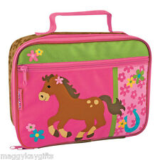 Stephen Joseph Insulated Girls Lunch Bag Drinks Bottle Butterfly Ladybird Pony