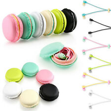 New Macarons Design in-ear Earphones Headphones Headset For Phones PC MP3/4 ES U