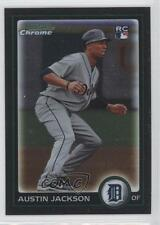 2010 Bowman Chrome 188 Austin Jackson Detroit Tigers RC Rookie Baseball Card 0a1
