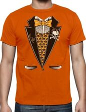 Halloween Tuxedo Easy Costume Printed Suit T-Shirt Skull Pumpkin