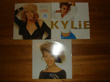 Job Lot of 3 Kylie Minogue Albums LP Vinyl Records