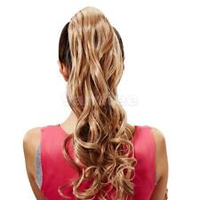 New Style Popular Wig Girl Ponytail Hairpiece Long Clip On Hair Extension