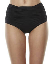New Moontide Women's Contours 50S Separate Pant Womens Swimming Costume Black