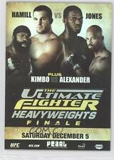 2010 Topps UFC Series 4 Fight Poster Review #FPR-TUF10 Kimbo Slice Jon Jones 0f4