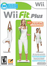 Wii Fit Plus Nintendo Wii 2009 New Factory Sealed No Board