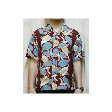 LIMITED EDITION 2014 Reproduction Rayon Hawaiian Aloha Shirt by Sun Surf Japan