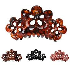 Phenovo Large Flowers Floral Hair Clamp Claw Clip Comb Grip Women Fashion