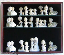 Figurine Display Case Shadow Box Wall Curio Cabinet, MH01B