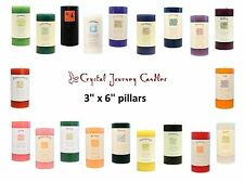 Crystal Journey Candles Reiki Herbal Magic Pillar U PICK 20 Intentions Scents