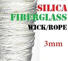 3mm High Quality Silica Rope Wick Temp > 1200°C Perfect for Atty's
