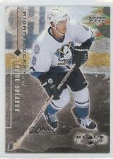 1998-99 Upper Deck Black Diamond #2 Teemu Selanne Hockey Card 0b3