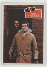 1959 Topps Tell Us #9 Fabian off to school Non-Sports Card 0j0