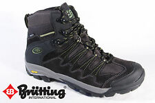 Brütting Hiking Boots Boots Real leather waterproof black New