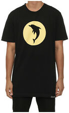 New Men's Pink Dolphin Speed Tee Black Tops Tshirt Shirt Tee