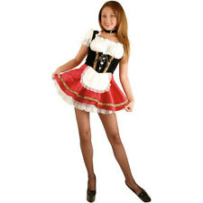 Adult Sexy Black & Red Beer Garden Girl Costume