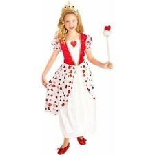Childs Princess Queen Of Hearts Costume