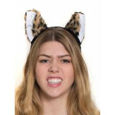 Plush Leopard Ears On Headband