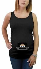 Bun In The Oven Cute Mom To Be Pregnancy Maternity Tank Top Tunic Funny