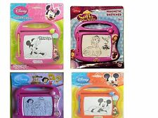 Disney Mickey,Minnie Mouse,Frozen Minions Magnetic Sketcher, Kids Scribbler Toy