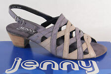 Jenny by Ara Sandals Sneakers Sling Real leather grey/Blue New