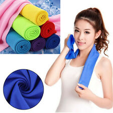 Ice Cold Enduring Running Jogging Gym Chilly Pads Instant Cooling Sport Towel &