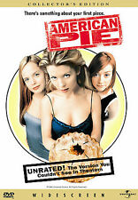 American Pie (DVD, 1999, Unrated Version - Collectors Edition)
