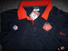 NIKE CHICAGO BEARS NFL FOOTBALL ON FIELD POLO SHIRT XL L NWT $80.00