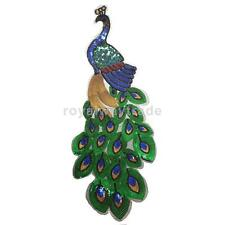 DIY Clothing Bags Patch Iron Sew Applique Alternative Sequin Embroidery Peacock