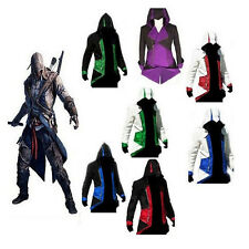 Cool Stylish Men's Kids' Costume Hoodie Jacket Coat For Assassins Creed Cosplay