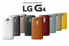 LG G4 - 32GB - H810 Genuine Leather Back Unlocked Rogers Bell Telus Fido Chatr