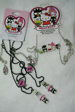 HELLO KITTY Kid's Girl's Jewelry SET Necklace BFF + 40th Ann Chococat Keroppi