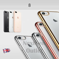New Transparent TPU Soft Gel Silicone Case Cover Crystal Clear - iPhone 7 & Plus