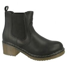 Spot On Womens/Ladies Heeled Gusset Ankle Boots