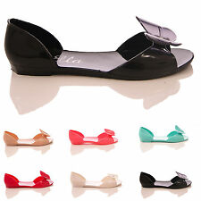 NEW LADIES WOMENS FLAT SUMMER JELLY JELLIES FLIP FLOPS SANDALS SHOES SIZE